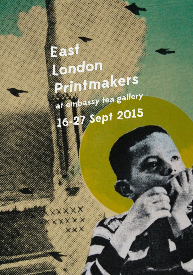 east london printmakers summer show 2015 A5 front