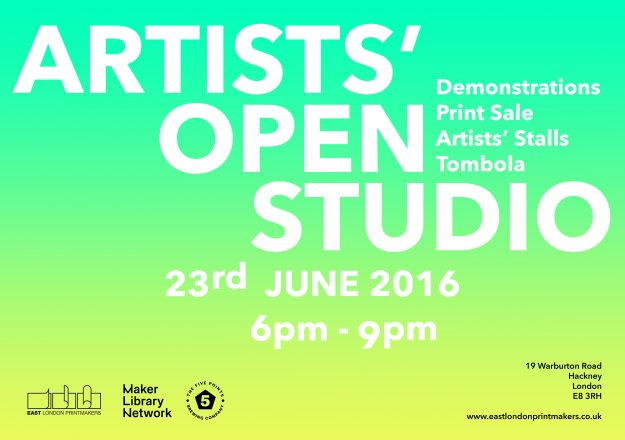 OPEN STUDIO E FLYER